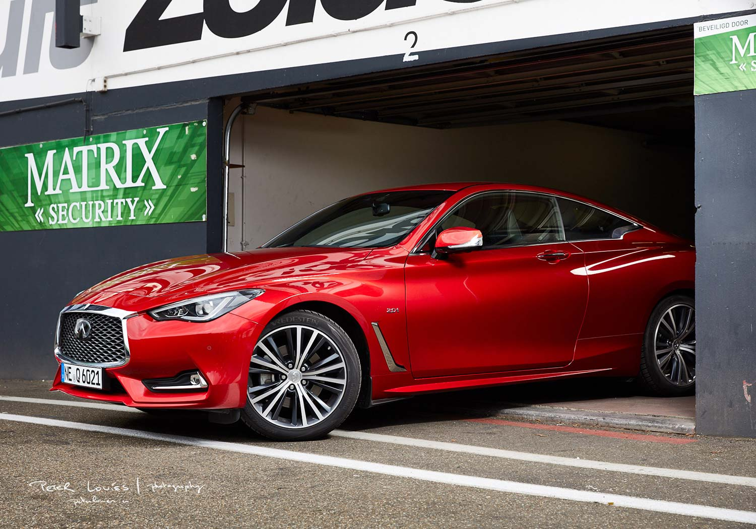 Automotive photography with Infinity Q60